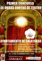 I Concurso de Obras de Teatro